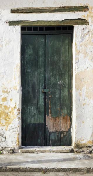 Photograph - Antique Door Historical Honda Tolima Colombia by Adam Rainoff