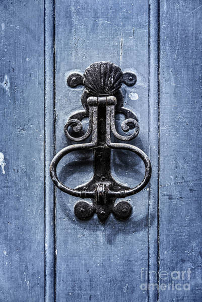Wall Art - Photograph - Antique Door Knocker by Delphimages Photo Creations