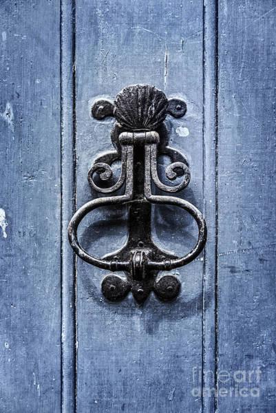 Doorknob Photograph - Antique Door Knocker by Delphimages Photo Creations