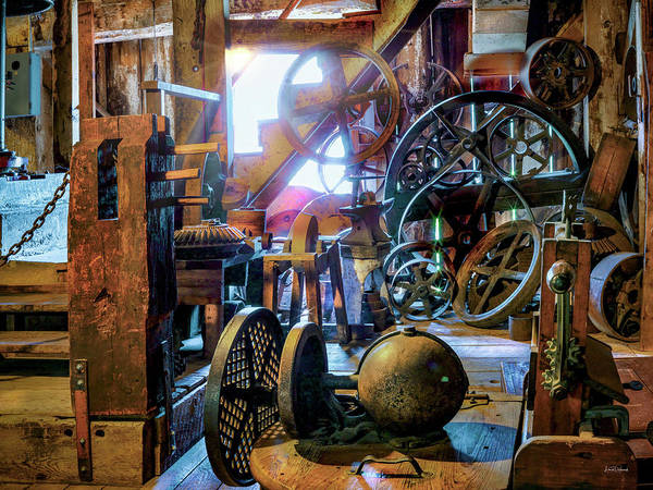 Wall Art - Photograph - Antique Flour Mill by Leland D Howard