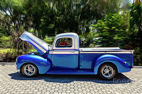 Photograph - Antique Ford Pickup Truck by Carlos Diaz