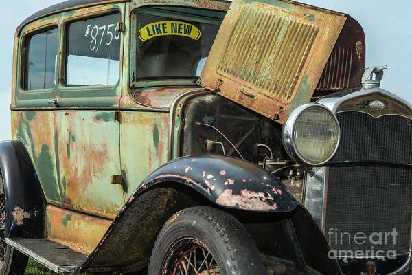 Wall Art - Photograph - Antique Ford by Rick Mann