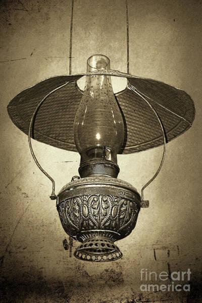 Wall Art - Photograph - Antique Oil Lantern By Kaye Menner by Kaye Menner