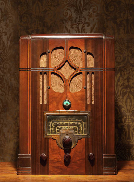 Connection Photograph - Antique Radio by Pm Images