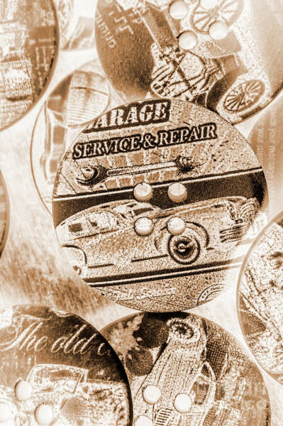 Wall Art - Photograph - Antique Service Industry by Jorgo Photography - Wall Art Gallery