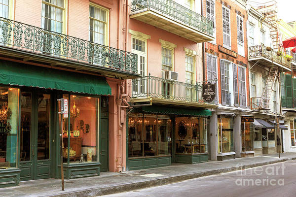 Wall Art - Photograph - Antique Shops In New Orleans by John Rizzuto