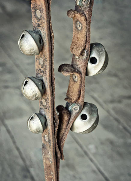 Photograph - Antique Sleigh Bells by Gary Slawsky