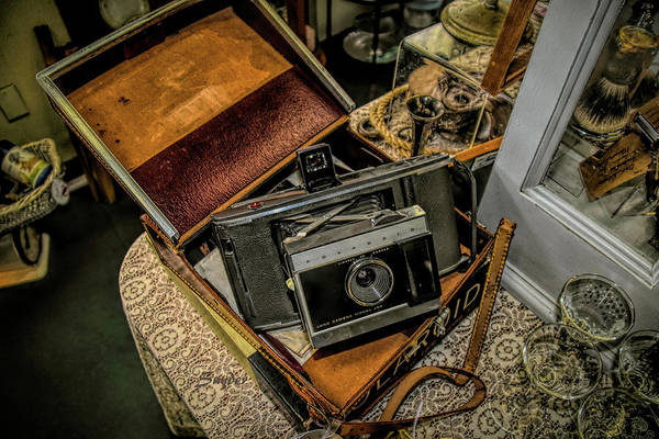 Photograph - Antique Store Polaroid Camera by Floyd Snyder