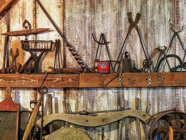 Wall Art - Photograph - Antique Tools by Leland D Howard