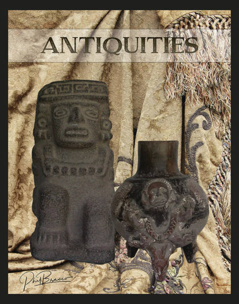 Photograph - Antiquities by Philip Bracco