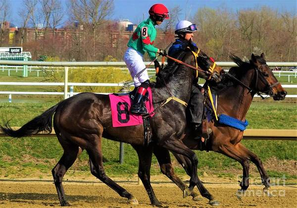 Wall Art - Photograph - Antonio Lopez - Kojo's Queen - Laurel Park 6 by Anthony Schafer