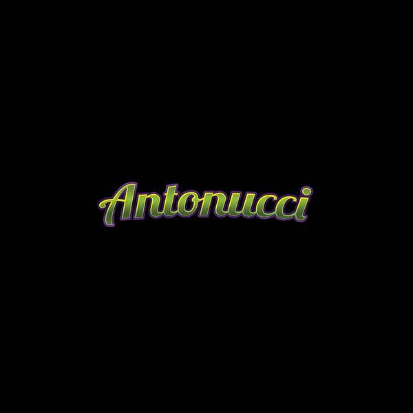 Wall Art - Digital Art - Antonucci #antonucci by TintoDesigns