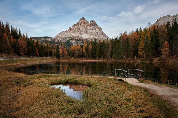 Photograph - Antorno Lake  by Jon Glaser