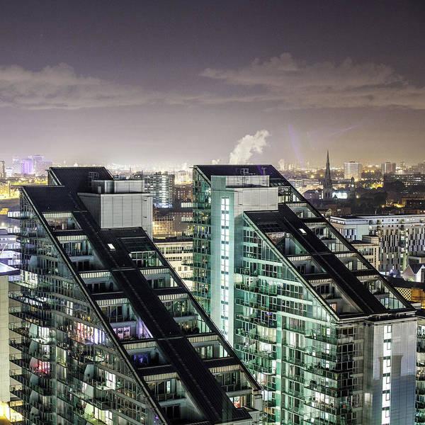 Manchester Photograph - Apartment Buildings by Mark Lovatt