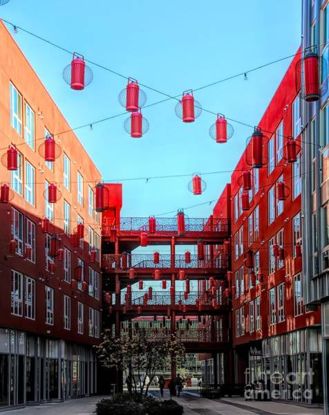 Wall Art - Photograph - Apartments Complex Heart Of Chinatown Los Angeles Ca by Chuck Kuhn