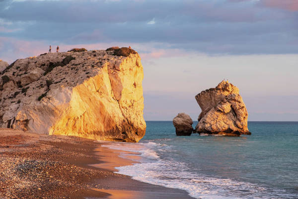Nature Wall Art - Photograph - Aphrodite's Birthplace Or Petra Tou Romiou In Cyprus by Iordanis Pallikaras