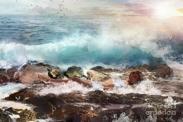 Essence Digital Art - Aphros by Marissa Maheras