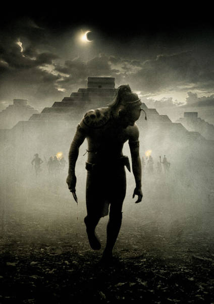 Wall Art - Digital Art - Apocalypto by Geek N Rock