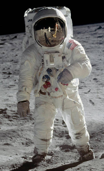 Photograph - Apollo 11, Astronaut Buzz Aldrin by Science Source