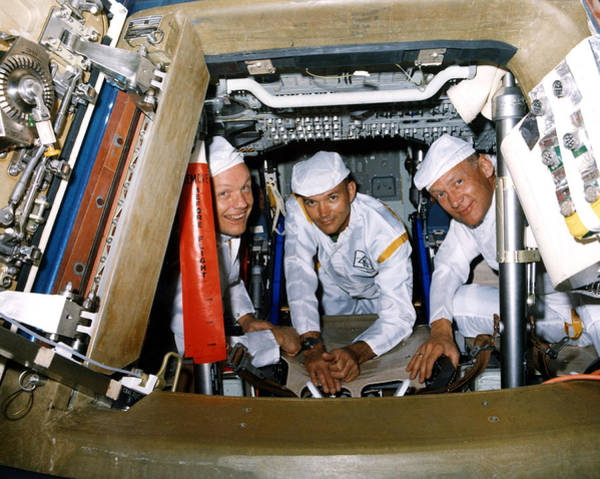 Photograph - Apollo 11 Astronauts, Egress Test, 1969 by Science Source