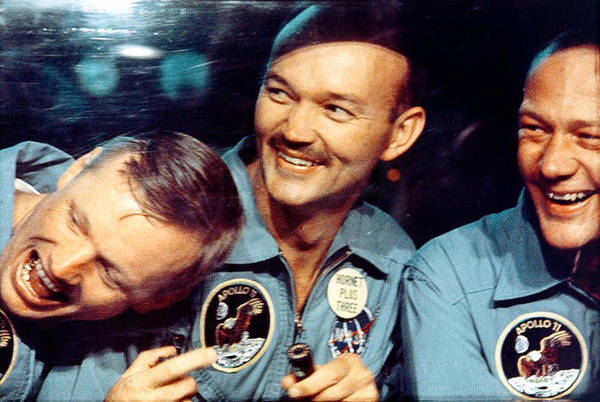Photograph - Apollo 11, Happy To Be Home, 1969 by Science Source