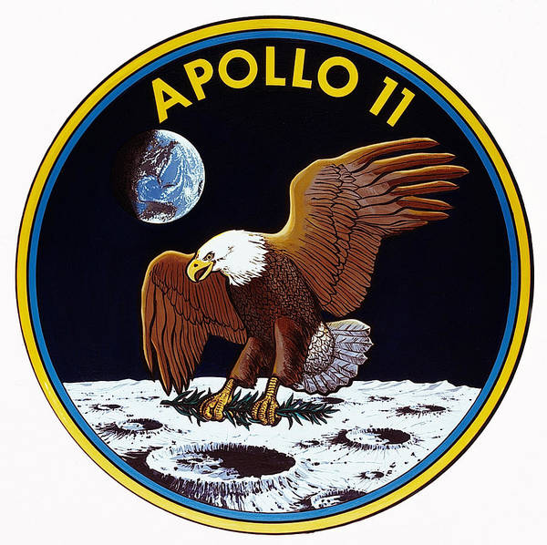 Photograph - Apollo 11, Mission Patch, 1969 by Science Source