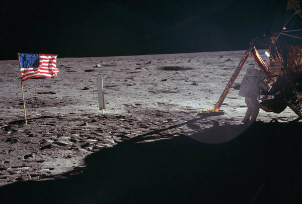 Photograph - Apollo 11, Neil Armstrong Eva, 1969 by Science Source