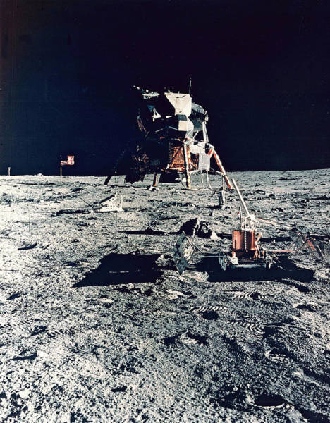 Photograph - Apollo 11, Tranquility Base, 1969 by Science Source