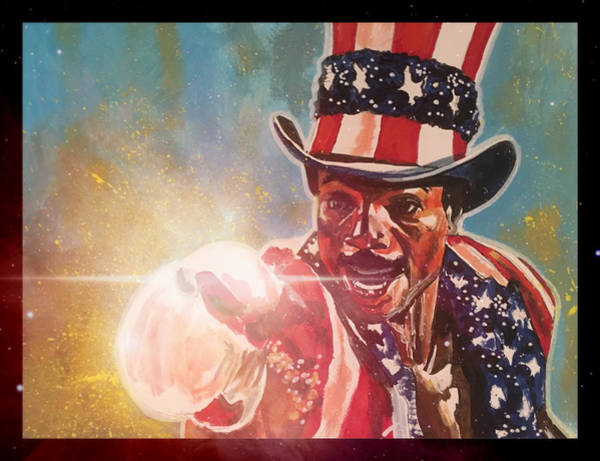 Painting - Apollo Creed  by Joel Tesch