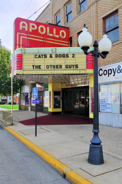 Small Town Usa Photograph - Apollo Theatre, Princeton, Illinois, Usa by Bruce Leighty