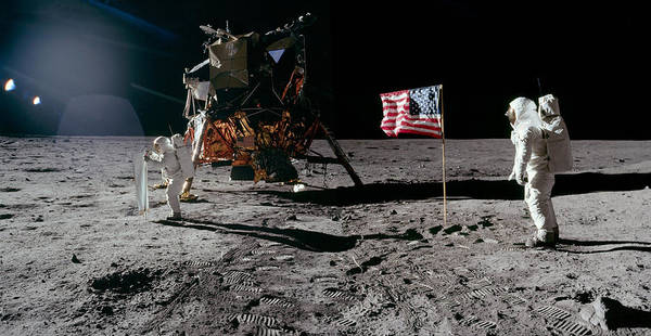 Wall Art - Photograph - Apollo11, Buzz Aldrin Composite, 1969 by Science Source