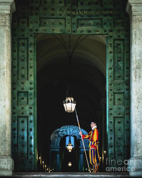 Apostolic Palace Photograph - Apostolic Palace Door by Luis GA