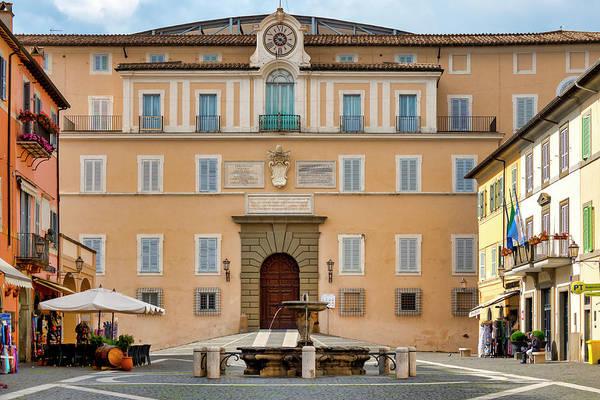 Photograph - Apostolic Palace In Castel Gandolfo by Fabrizio Troiani