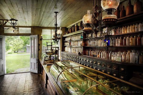 Photograph - Apothecary - The Compounder by Mike Savad