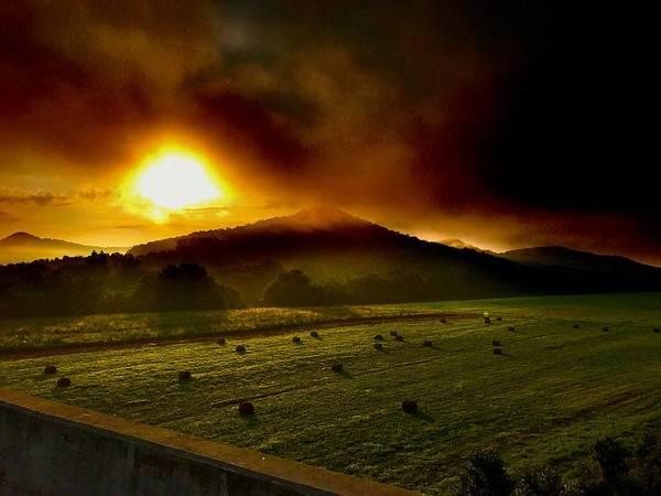 Photograph - Appalachian Sunrise by Jack Wilson