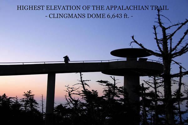 Wall Art - Photograph - Appalachian Trail Hi Point Poster by David Lee Thompson
