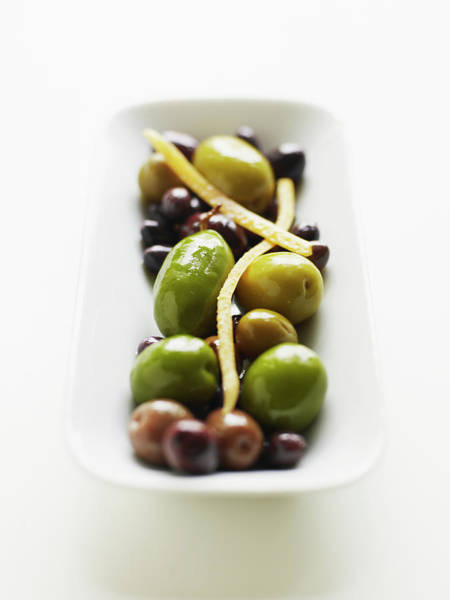 Wall Art - Photograph - Appetizer Of Warm Marinated Olives by Thomas Barwick