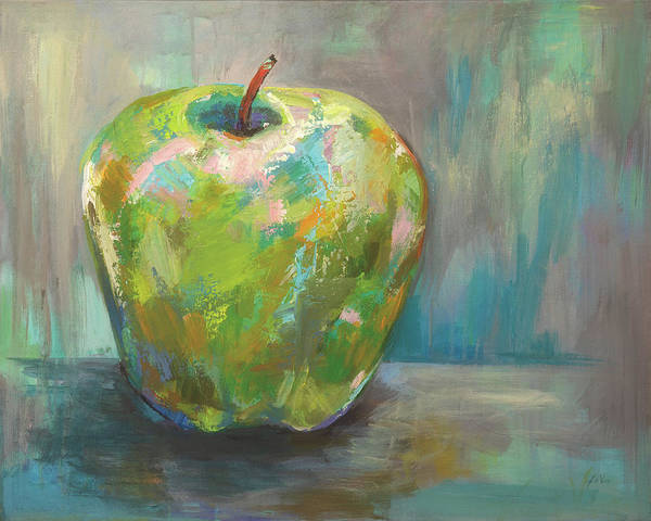 Wall Art - Painting - Apple by Jeanette Vertentes