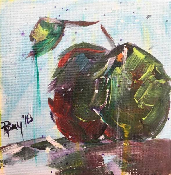 Still Life Painting - Apple Martinis Coming Up by Roxy Rich
