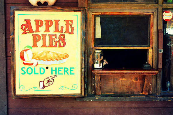 Photograph - Apple Pies Sold Here by Glenn McCarthy