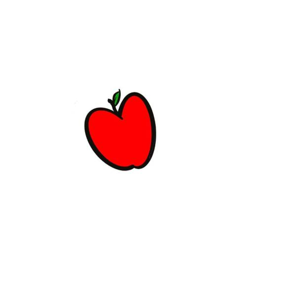 Digital Art - Apple  by Sorys Acevedo