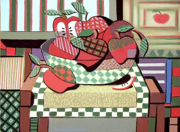 Painting - Apples No Oranges  by Anthony Falbo