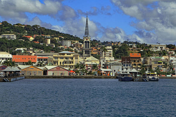 Photograph - Approaching Fort De France by Tony Murtagh