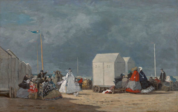 Wall Art - Painting - Approaching Storm by Eugene Boudin
