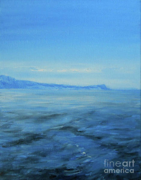 Wall Art - Painting - Approaching Winter by Jane See