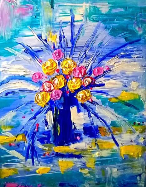Painting - Apre Midi by Rusty Gladdish