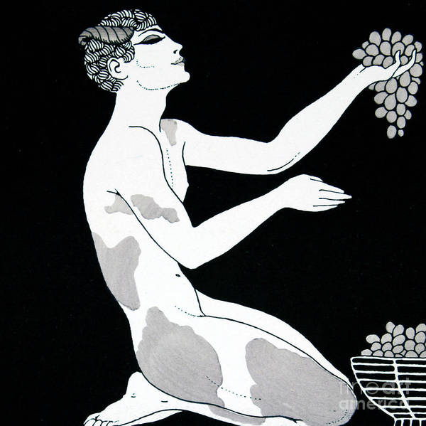 Wall Art - Drawing - Apres Midi D Un Faune by Georges Barbier