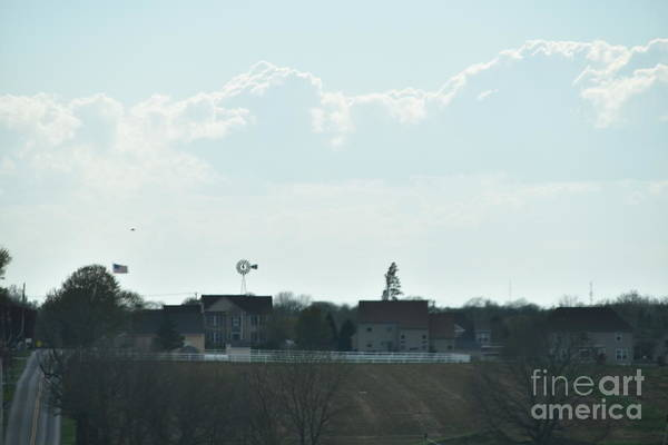 Photograph - April Amish Country View by Christine Clark