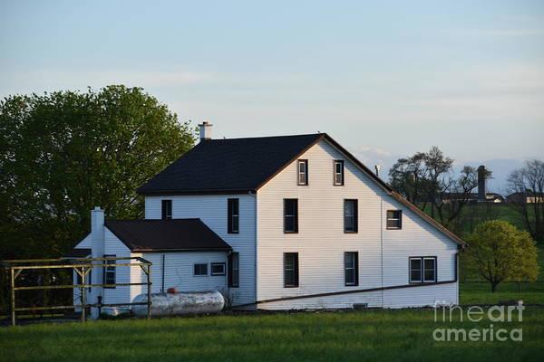 Photograph - April Farmhouse by Christine Clark