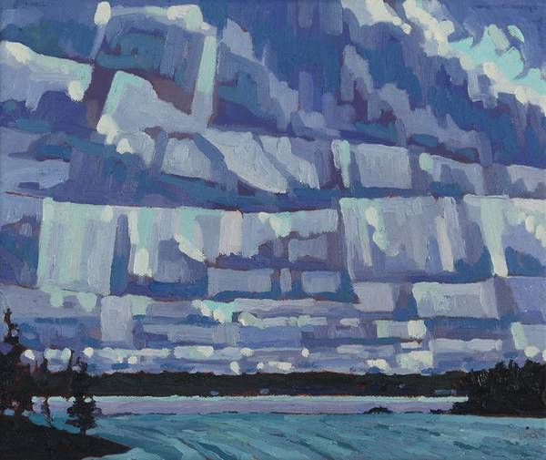 Painting - April Fools Stratocumulus by Phil Chadwick